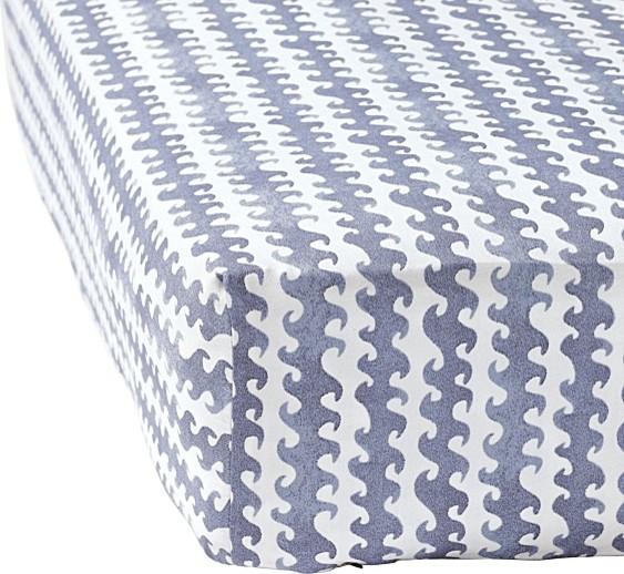 Wave Crib Sheet