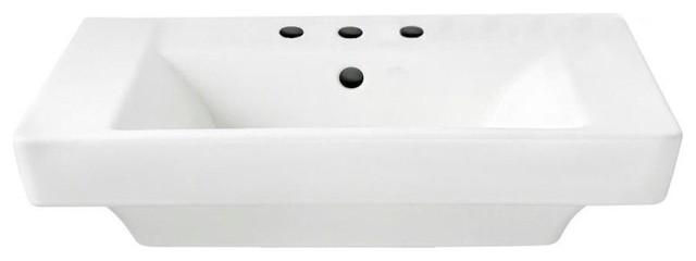 American Standard, Bathroom Sink, White, 24x19x7.