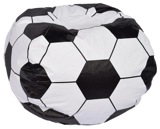 Soccer Ball Matte Bean Bag