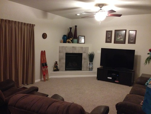Any advice on how to make my living room look better?