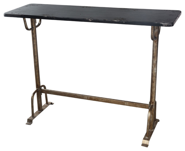 Moe S Home Sy Rectangular Bar Table Indoor Pub And Bistro