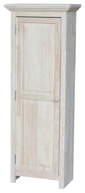 Mason Arlene Storage Cabinet, Unfinished.
