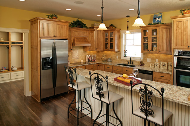 Prior lake affordable luxury for Cheap luxury kitchens