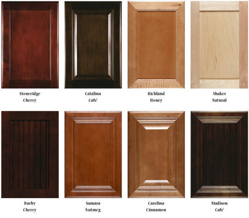 Image gallery maple stain for Cherry vs maple kitchen cabinets