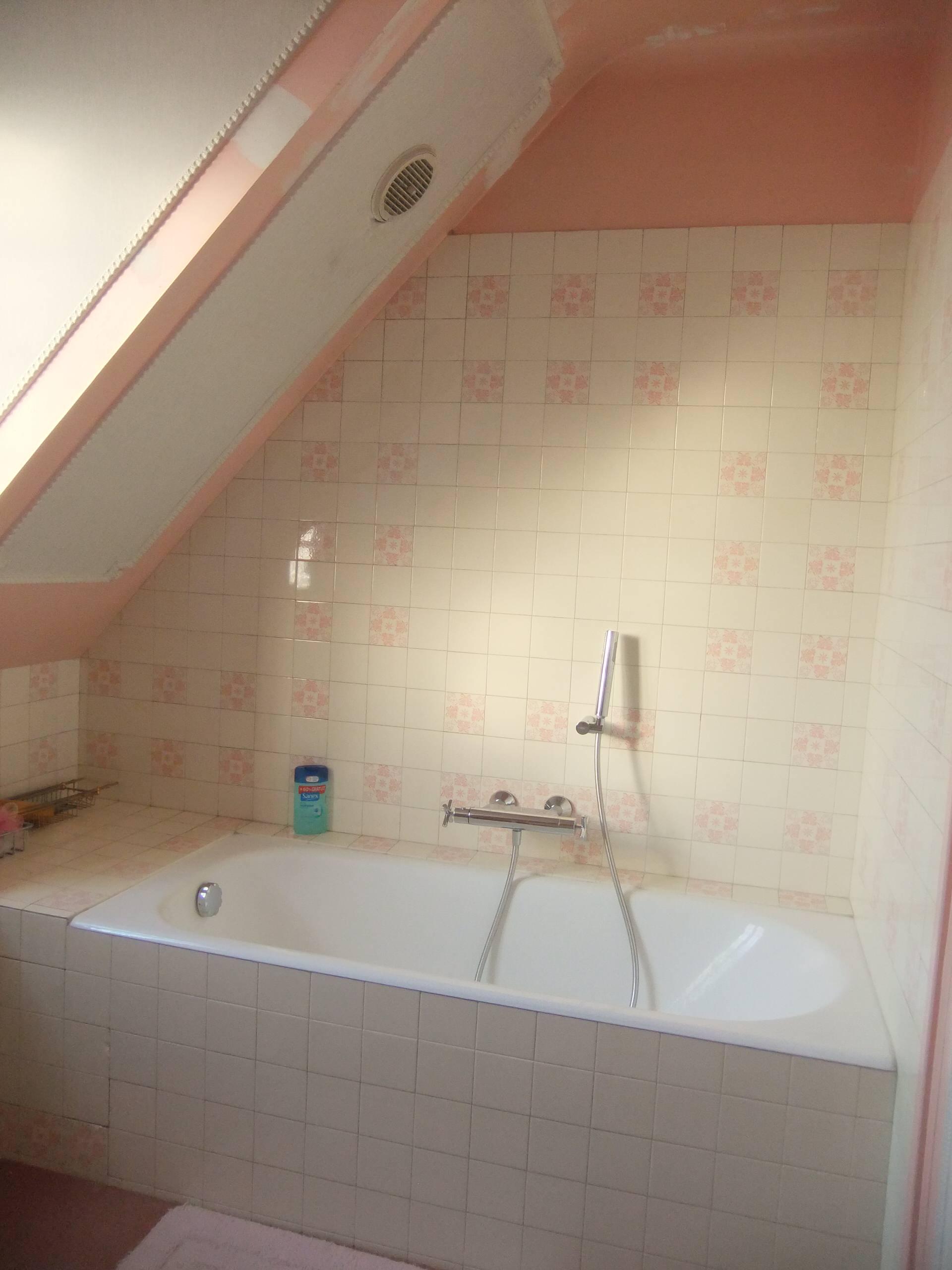 Rénovation chambre et salle d'eau sous combles