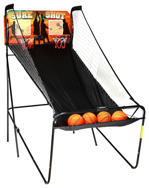 Hathaway Sure Shot Dual Electronic Basketball Game - Contemporary - Game Tables - by Blue Wave ...