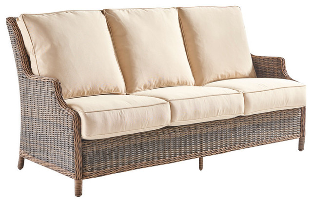 Fabron Indoor Outdoor Sofa Off White
