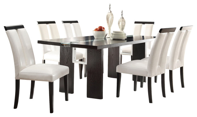 Coaster Home Kenneth Contemporary Modern Dining Table Led Light Transitional Tables