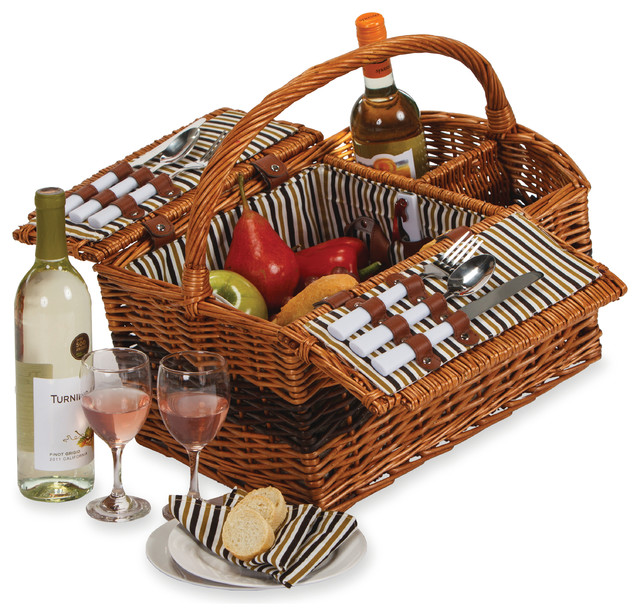 Largo 2 Person Picnic Basket, Willow.