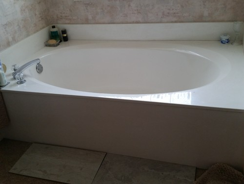 Will I Ruin The Updated Look Of My New Bath By Keeping The Cultured Marble  Tub?