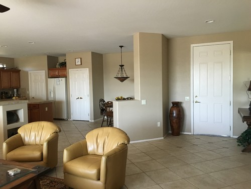 help!! what to paint doors and ceiling?