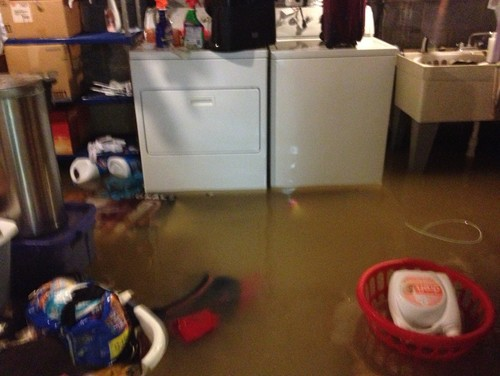 Basement Amp Laundry Room Flooded Last Week Will Use
