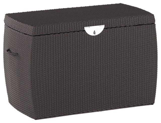 Ipanema Outdoor Cushion Box, Medium, Coffee Deck Boxes And Storage
