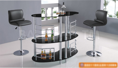 3 pc sleek indoor Bar Set