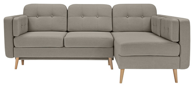 Cornet Lux Sectional Sofa Bed With Storage midcentury-sleeper-sofas  sc 1 st  Houzz : sectional sofa with storage and sleeper - Sectionals, Sofas & Couches