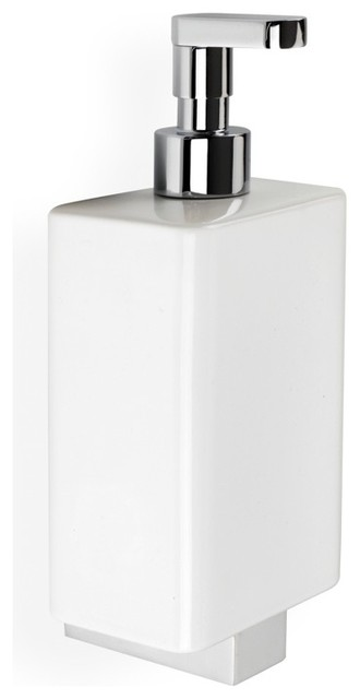 Ceramic Wall Mounted Soap Dispenser   Wall Mounted Soap Dispenser