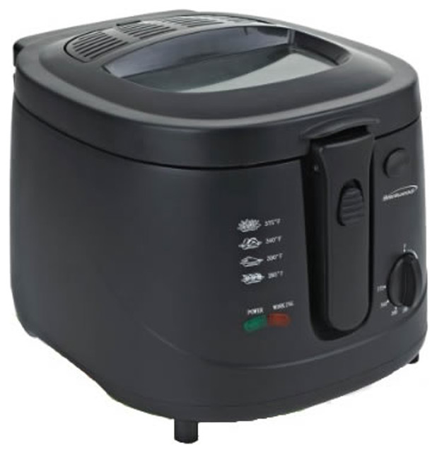 Brentwood 2.5 Lt. Deep Fryer 1500 Watts.