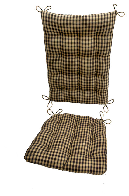Black And White Checkered Kitchen Chair Cushions
