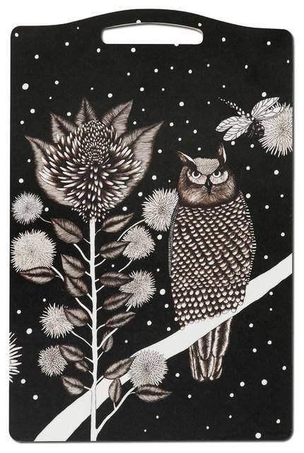 The Owl Chopping Board, 20x30 cm