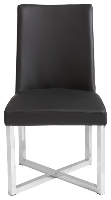 Howard Dining Chair, Black.