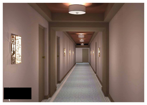 We are starting with hallway concepts and moving forward from there 2 options edgy and more modern or safe choice and has been done before