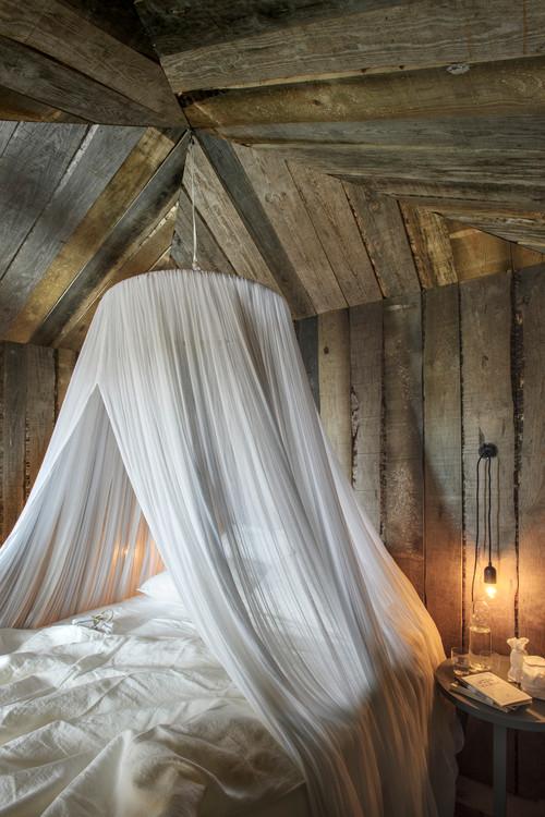 dosel cabañas en portugal de alquiler en la Reserva Natural do Sado del estudio de arquitectura aires mateus en diariodesign magazine