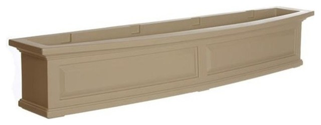Mayne 4832C Nantucket 5' Window Box, Clay