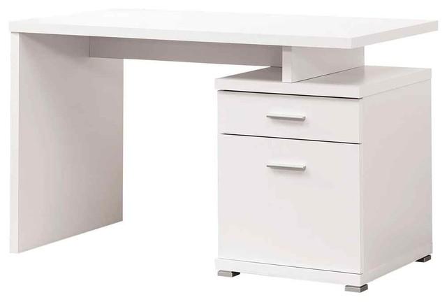 Modern Computer Desk White.