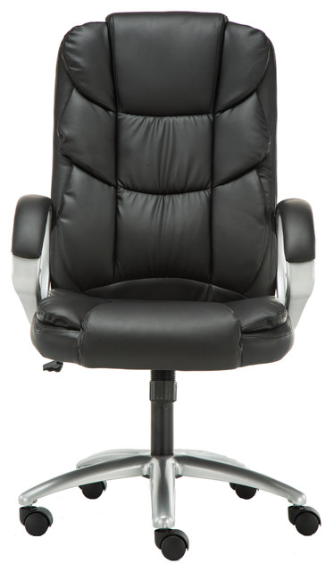 Peachy Aster Leather Swivel Executive Chair Black Andrewgaddart Wooden Chair Designs For Living Room Andrewgaddartcom