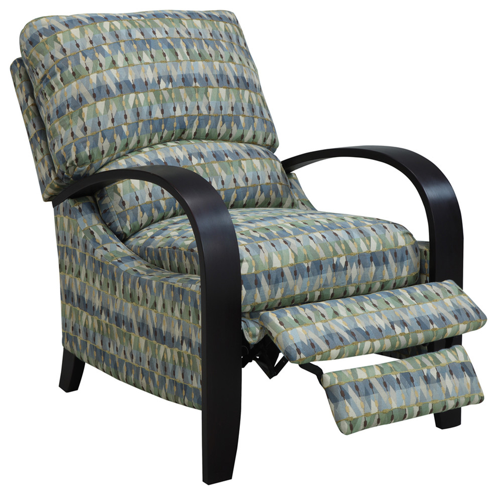 Madison Park Archdale Bent Arm Recliner Transitional
