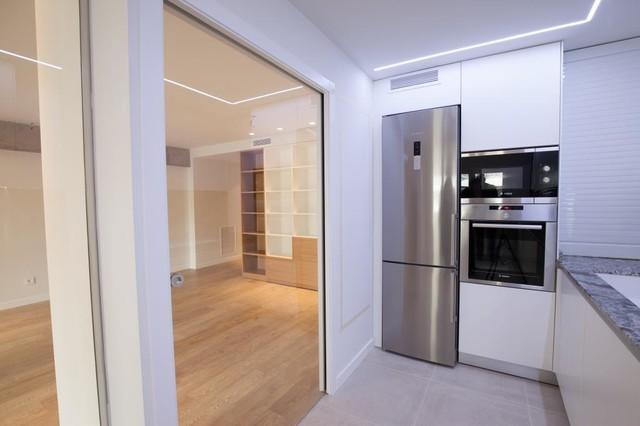 Example of a minimalist home design design in Valencia