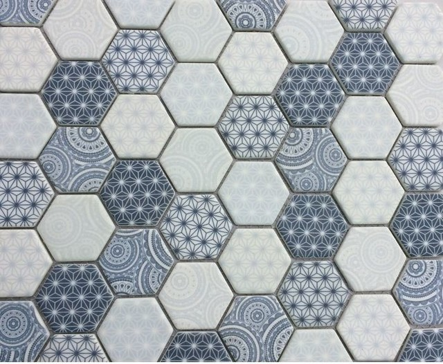 Recycled Gl Mosaic With Printed