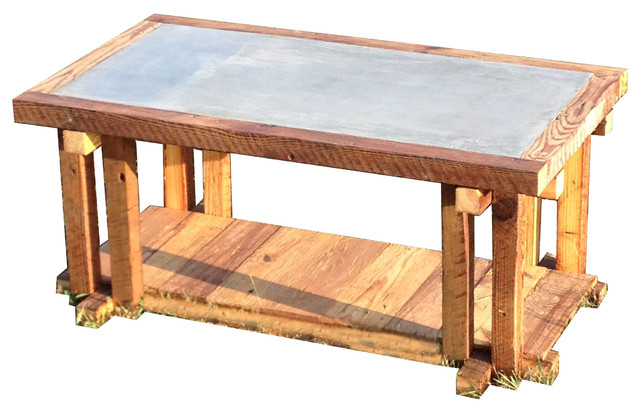 Elegant Rustic Coffee Tables by The Rusted Nail