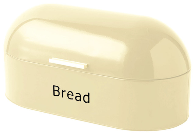 Chef Vida Retro Bread Bin, Cream