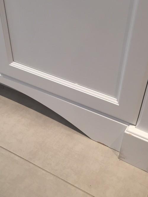 Kitchen cabinets paint peeling off