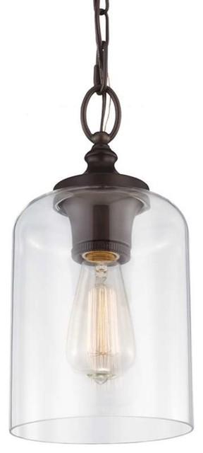 Murray Feiss P1310orb Hounslow Mini Pendant Light, Oil Rubbed Bronze.