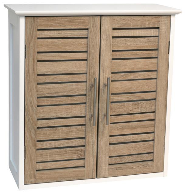 Wall Cabinet 1 or 2 Doors Bath Wall Mounted Storage Bath shelves ...