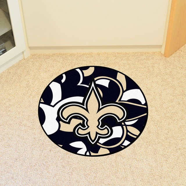 Nfl New Orleans Saints Roundel Mat 27