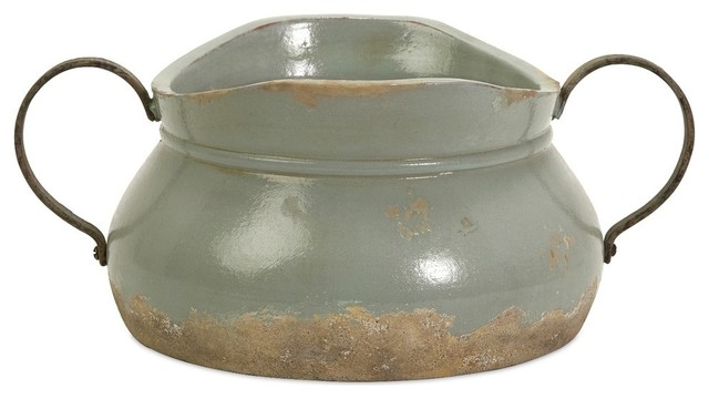 Calista Short Bowl With Metal Handle