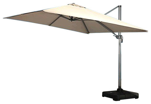 Renava Modern Patio Umbrella With Base Contemporary