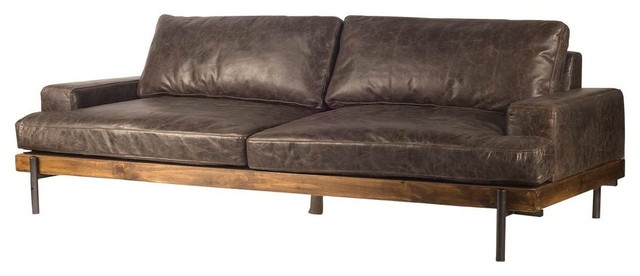 Mercana Modern Sofa, Black