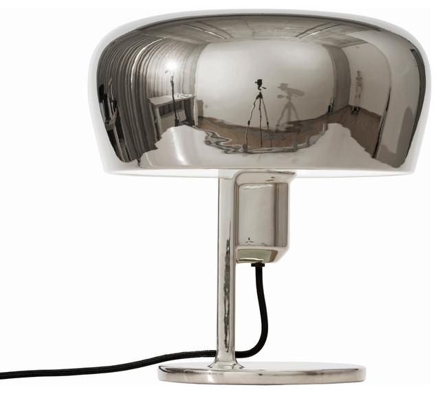Formagenda Coppola Table Lamp, Platinum and White