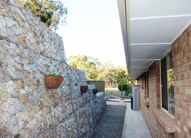 Gabion retaining walls rustic adelaide by prospect for Retaining wall contractors adelaide