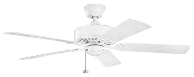 Kichler Renew Patio White Ceiling Fan.