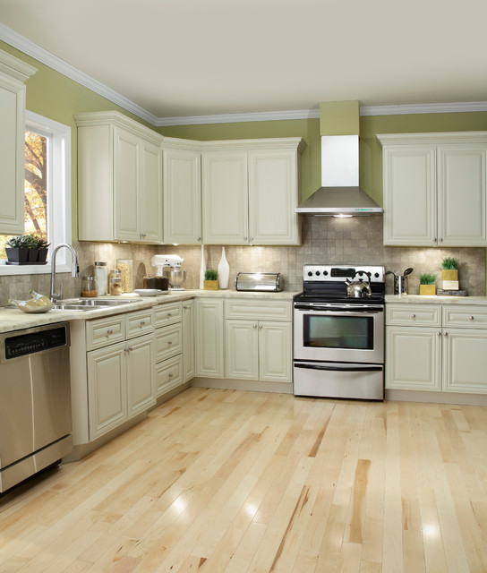 Ivory Kitchen Cabinets Part - 18: Victoria Ivory Kitchen Cabinets