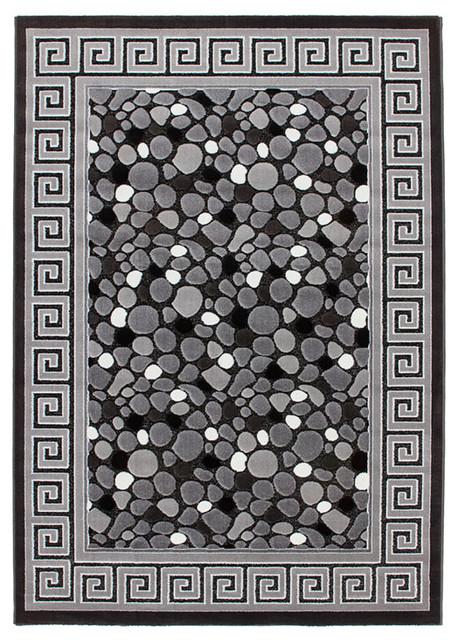 Turkey Izmir Rug, Grey, 80x150 cm