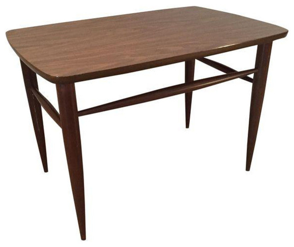 Danish Modern Vintage Side Table Midcentury Tables And End By Touchgoods