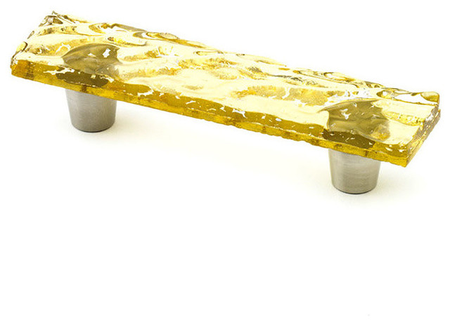 "... Knobs and Pulls, Citrine, 1"" X 4.5"" - Cabinet And Drawer Handle Pulls"