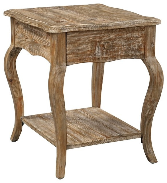 Shop Houzz Bolton Furniture Inc Rustic Reclaimed End