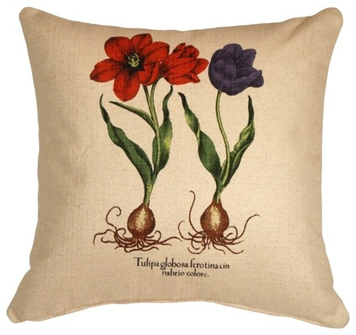 Pillow DecorTulips 20 x 20 Decorative Throw Pillow